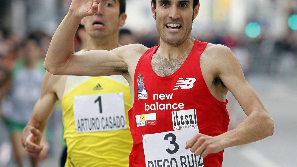 Foto: Diego Ruiz quedó eliminado en la primera semifinal (Efe)