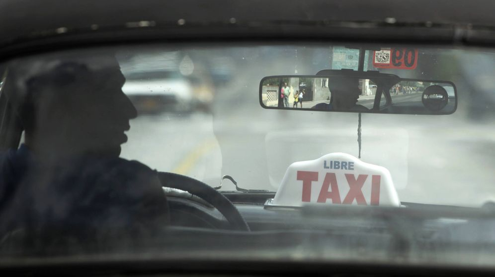 Foto: Conduce y calla. (Reuters)
