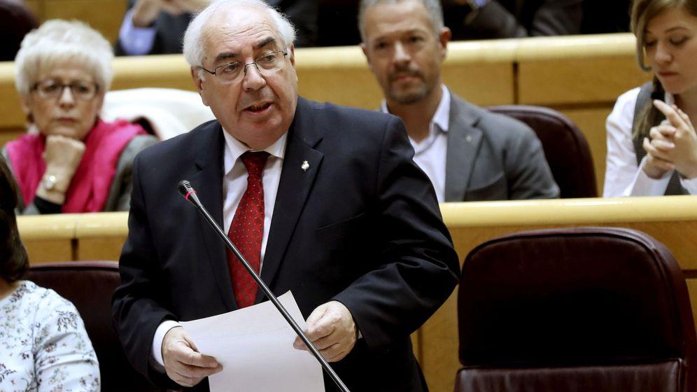 Foto: El senador socialista, Vicente Álvarez Areces. (EFE)