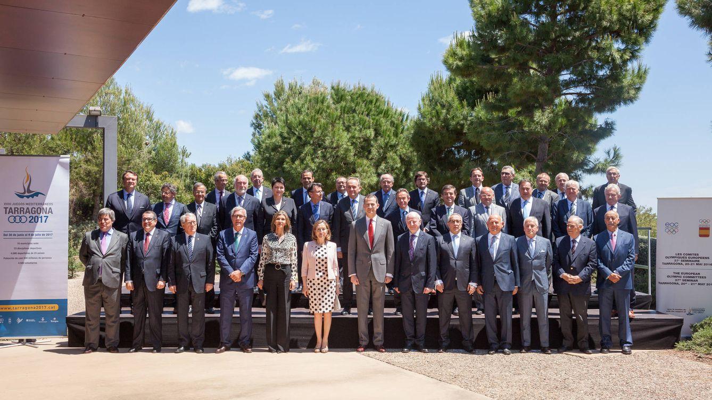 El Rey impulsa en Tarragona los Juegos del Mediterráneo de 2017
