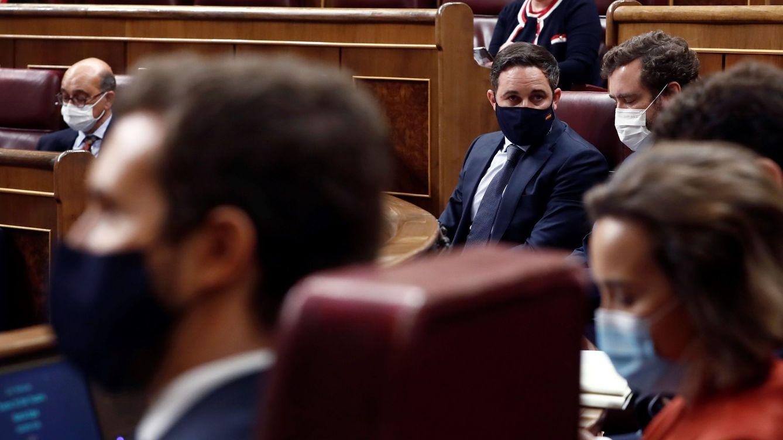 Abascal, derrotado, sin sumar votos, con ruptura con el PP y fortaleciendo a Sánchez