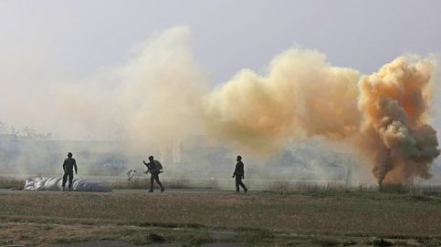 Ejercicio organizado por el Ejército de Srinagar
