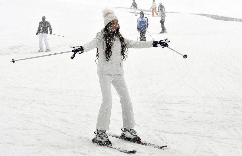 Foto: Una esquiadora, en Ischgl. (EFE)