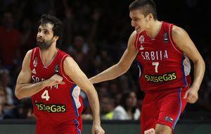 Serbia y su imponente 'tri prsta' se conjuran para asustar a la NBA