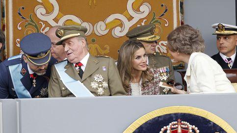Felipe VI con Juan Carlos I y Letizia con Sofía: baile de parejas en la agenda oficial