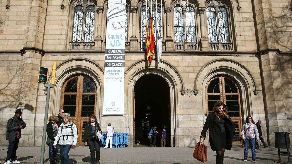 Foto: Fachada de la Universidad de Barcelona. (EFE)