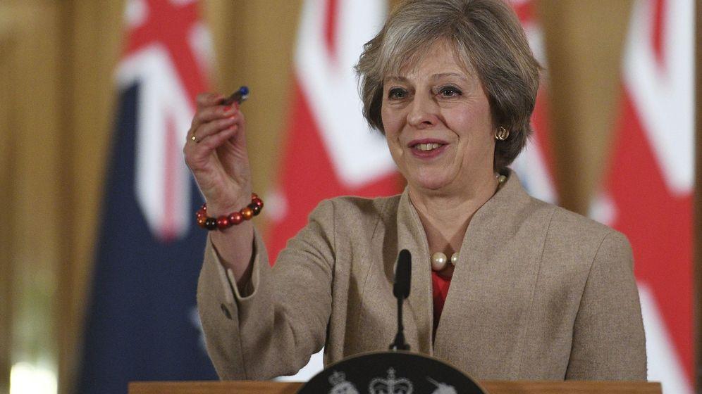 Foto: La primera ministra británica, Theresa May. (EFE)