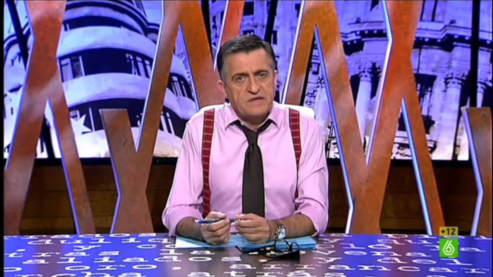Foto: Gran Wyoming en 'El intermedio'