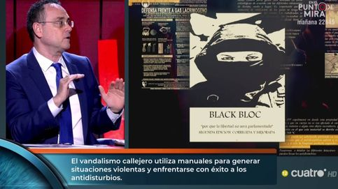 El coronel Baños ('Horizonte') tira de la manta de los disturbios: Detrás hay mucho dinero