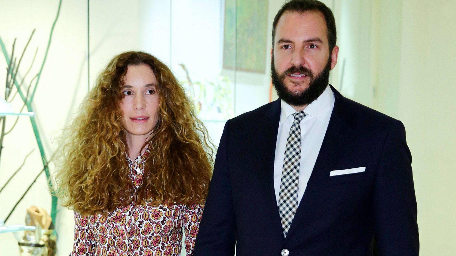 Foto:  Blanca Cuesta y Borja Thyssen. (Cordon Press)