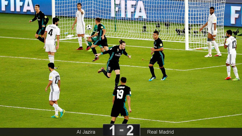 Foto: Bale celebra el gol que da el pase a la final al Real Madrid. (Reuters)
