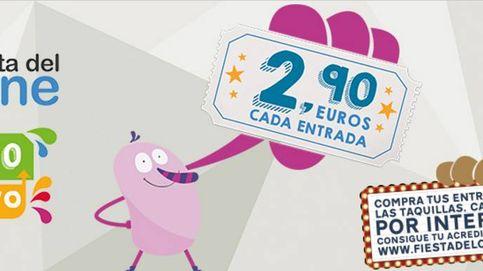 Entradas a 2,90 euros en la Fiesta del Cine: del 8 al 10 de mayo