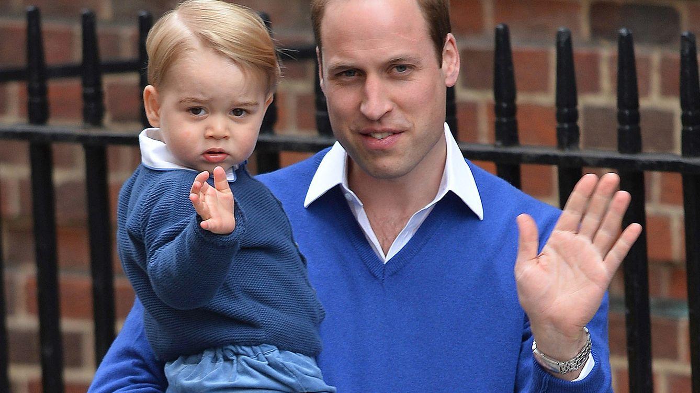 Foto: El príncipe Guillermo y su hijo, el príncipe George