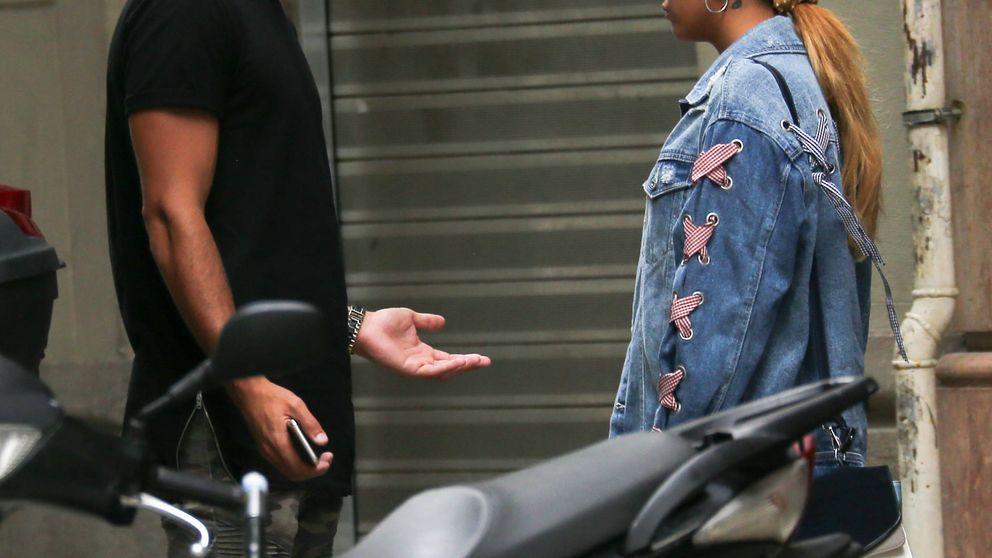 Exclusiva: Pillamos a Gloria Camila y Kiko discutiendo en Barcelona