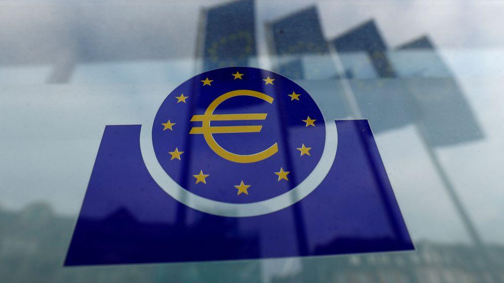 Foto: Logo del Banco Central Europeo. (Reuters)
