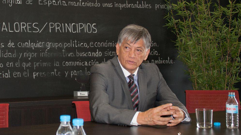 Foto: El embajador de Ecuador en España, Miguel Calahorrano (B.V)