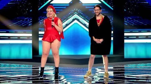 Los Glitch Gyals desatan la locura en 'Factor X', pero se quedan sin silla