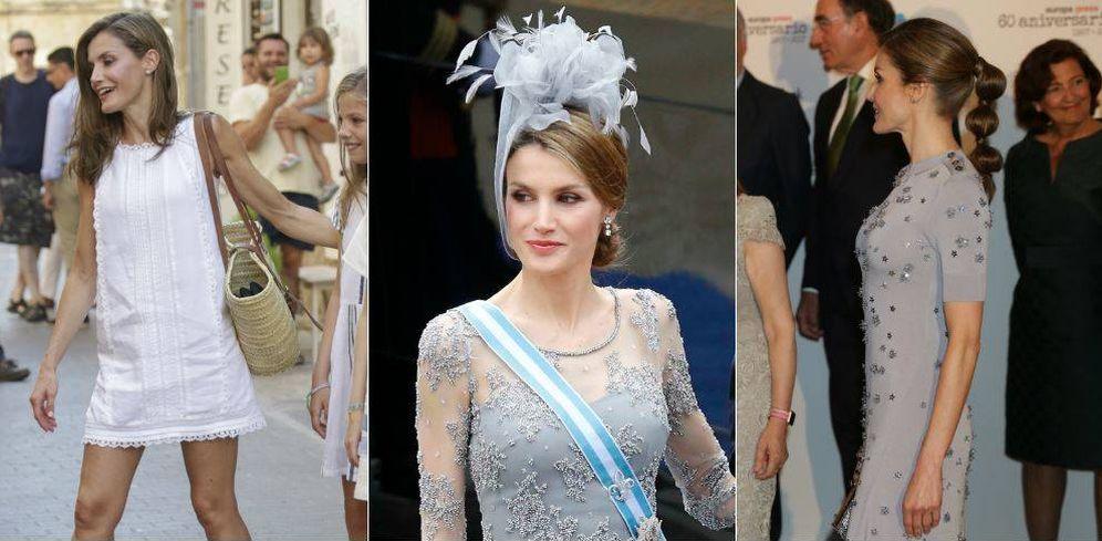 Foto: La Reina Letizia en un fotomontaje de 'Vanitatis'.