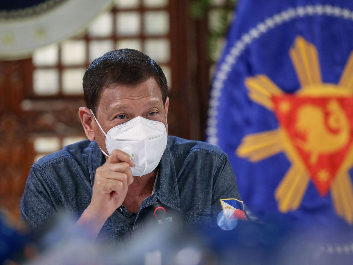 Foto: El presidente de Filipinas, Rodrigo Duterte. (EFE)
