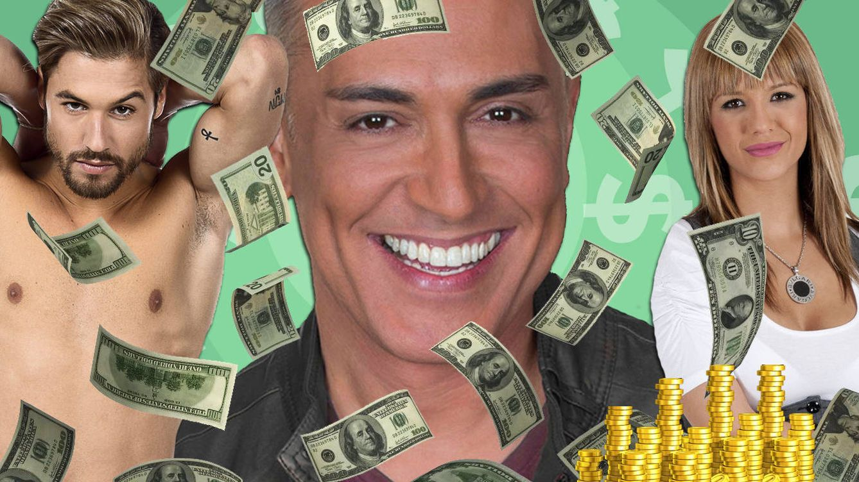 Del reality a la riqueza: 9 rostros que amasaron fortunas gracias a la TV