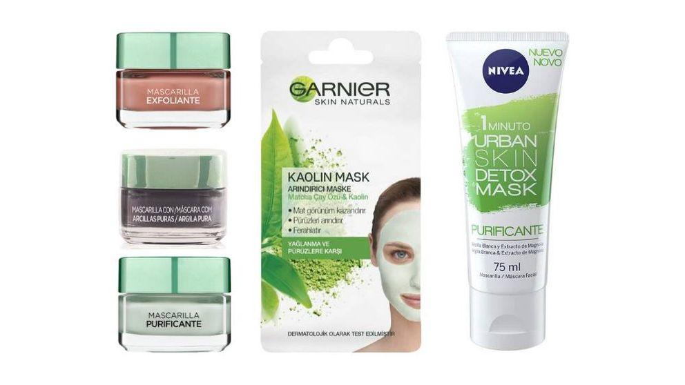 Las mascarillas cosméticas para la cara que te permitirán lucir un rostro sano