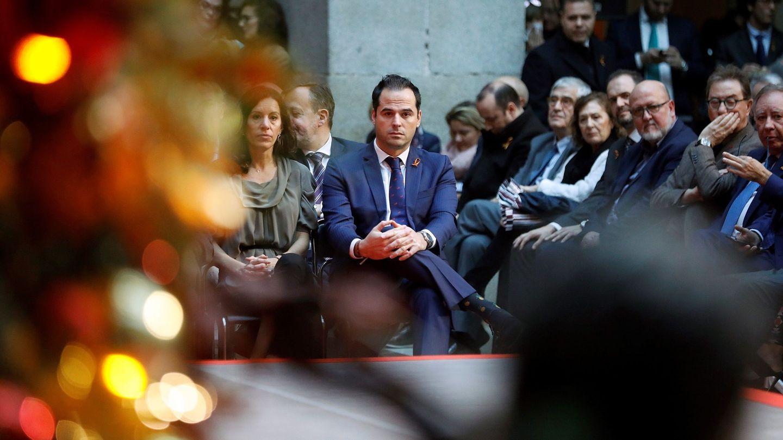 El vicepresidente de la Comunidad de Madrid Ignacio Aguado, en la Real Casa de Correos. (EFE)