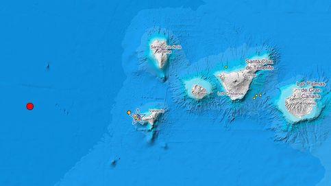 Registrado un terremoto de 3,4 en la isla canaria de El Hierro tras notarse uno de 5,7