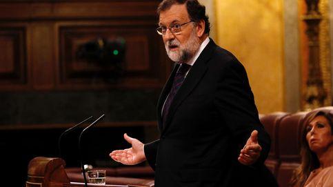 Rajoy evita hablar de Gürtel y Bárcenas y reta a la oposición a presentar otra moción