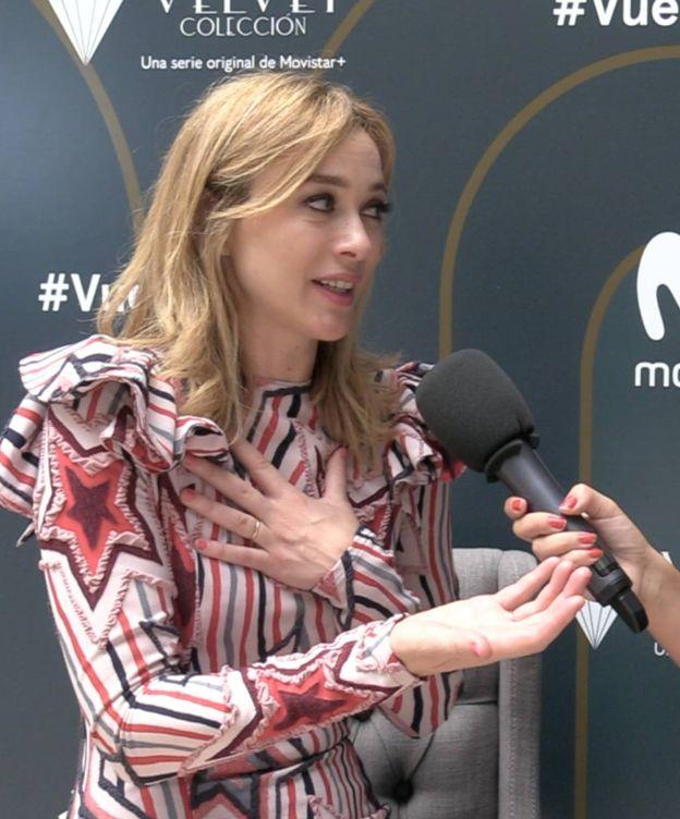 Foto: Entrevista con Marta Hazas, protagonista de 'Velvet Colección'.