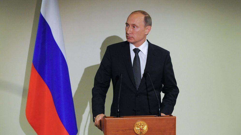 Foto: El presidente ruso, Vladímir Putin, comparece en rueda de prensa tras las negociaciones entre Rusia y EEUU. (EFE)