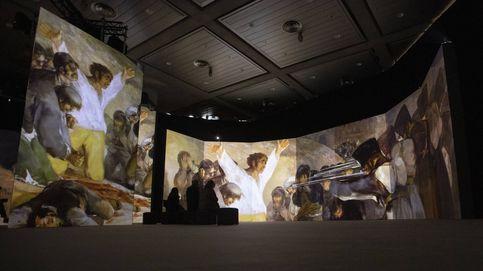 Viaje al centro de un cuadro (de Goya), una experiencia sensorial alucinante