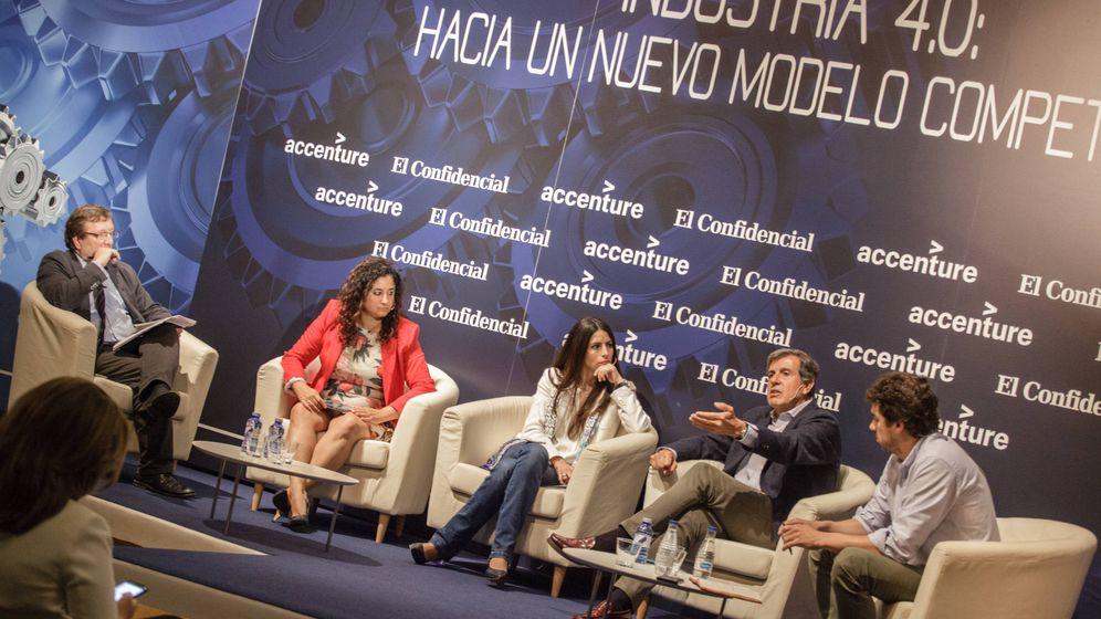 Foto: Foro de Accenture y El Confidencial sobre Industria 4.0. (Foto: Jorge Álvaro Manzano)