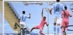 Post de Manchester City - Real Madrid en directo: Gol de Sterling tras fallo de Varane (1-0)