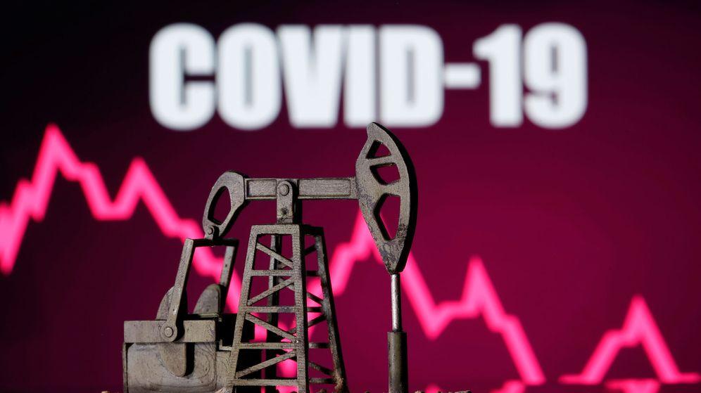 Foto: Covid-19 y petróleo (Reuters)