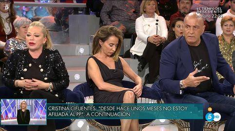 Kiko Matamoros malmete entre Belén Esteban y Mila Ximénez en el 'Deluxe'