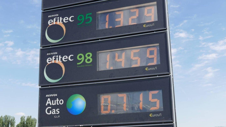 Últimos precios de los carburantes.