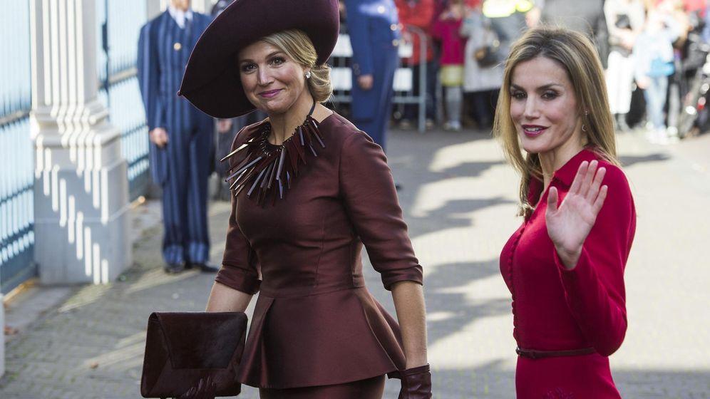 Foto: La reina Letizia y Máxima de Holanda. (Reuters)