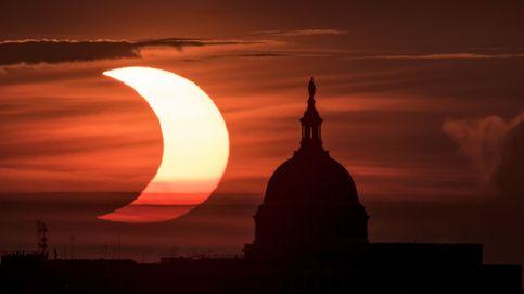 Así se ha visto el eclipse solar de este jueves desde distintas partes del mundo