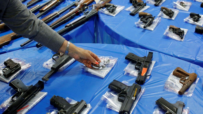 Redada de armas en Nueva York. (Reuters)