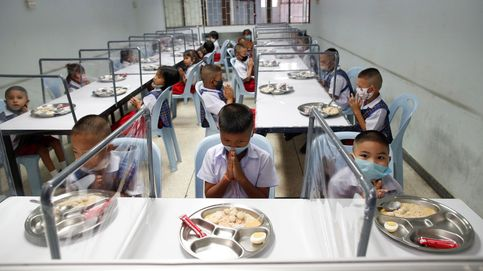 Reapertura de escuelas en Tailandia