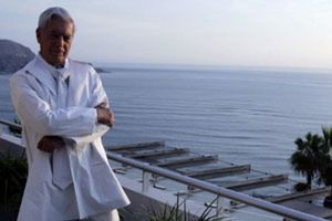 Vargas Llosa en la Buchinger