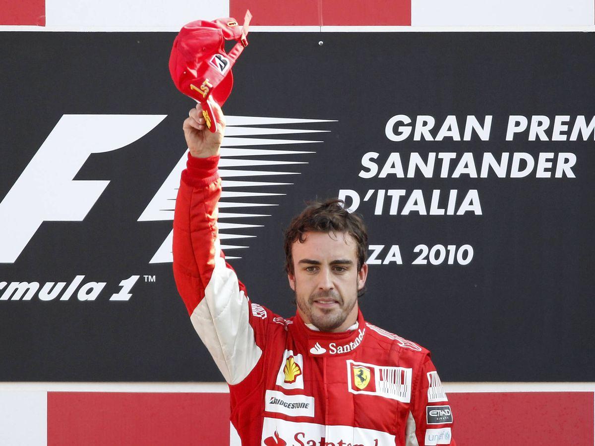 Foto: Fernando Alonso logró en dos ocasiones la victoria en Monza