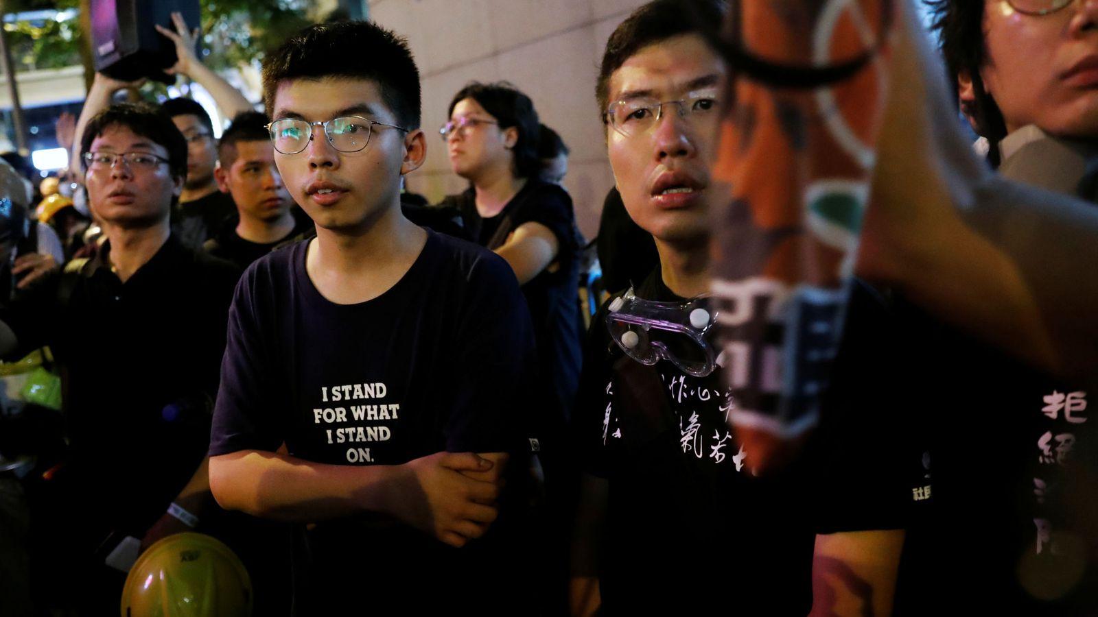 Foto: Joshua Wong. (Reuters)