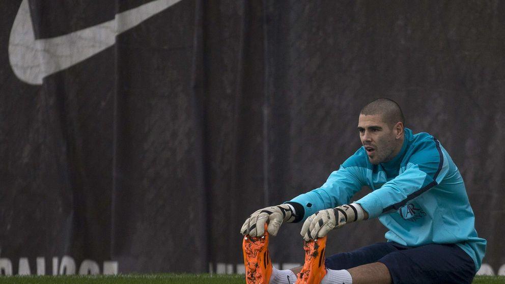 Víctor Valdés se arrepiente de haber salido del Barcelona 'a escondidas'