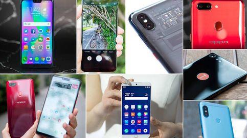 Los mejores móviles chinos que encontrarás