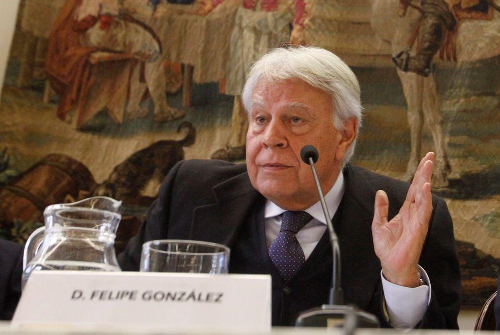 Foto: Felipe González, el pasado 23 de marzo en un homenaje a Adolfo Suárez en Madrid. (EFE)