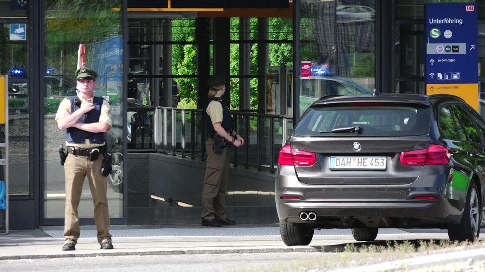 Foto: Varios heridos en un tiroteo en Múnich (EFE)