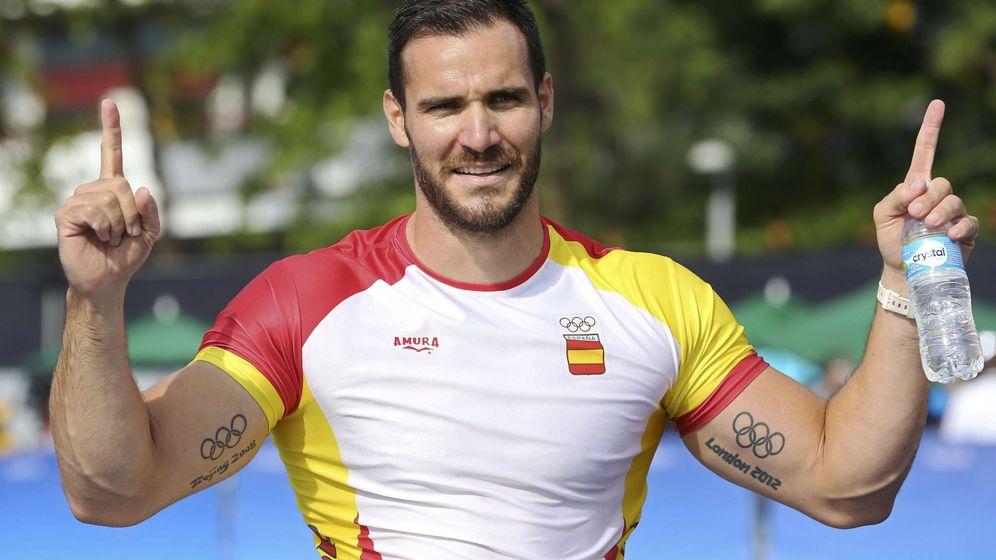 Foto: Saúl Craviotto en los JJOO de Río 2016.