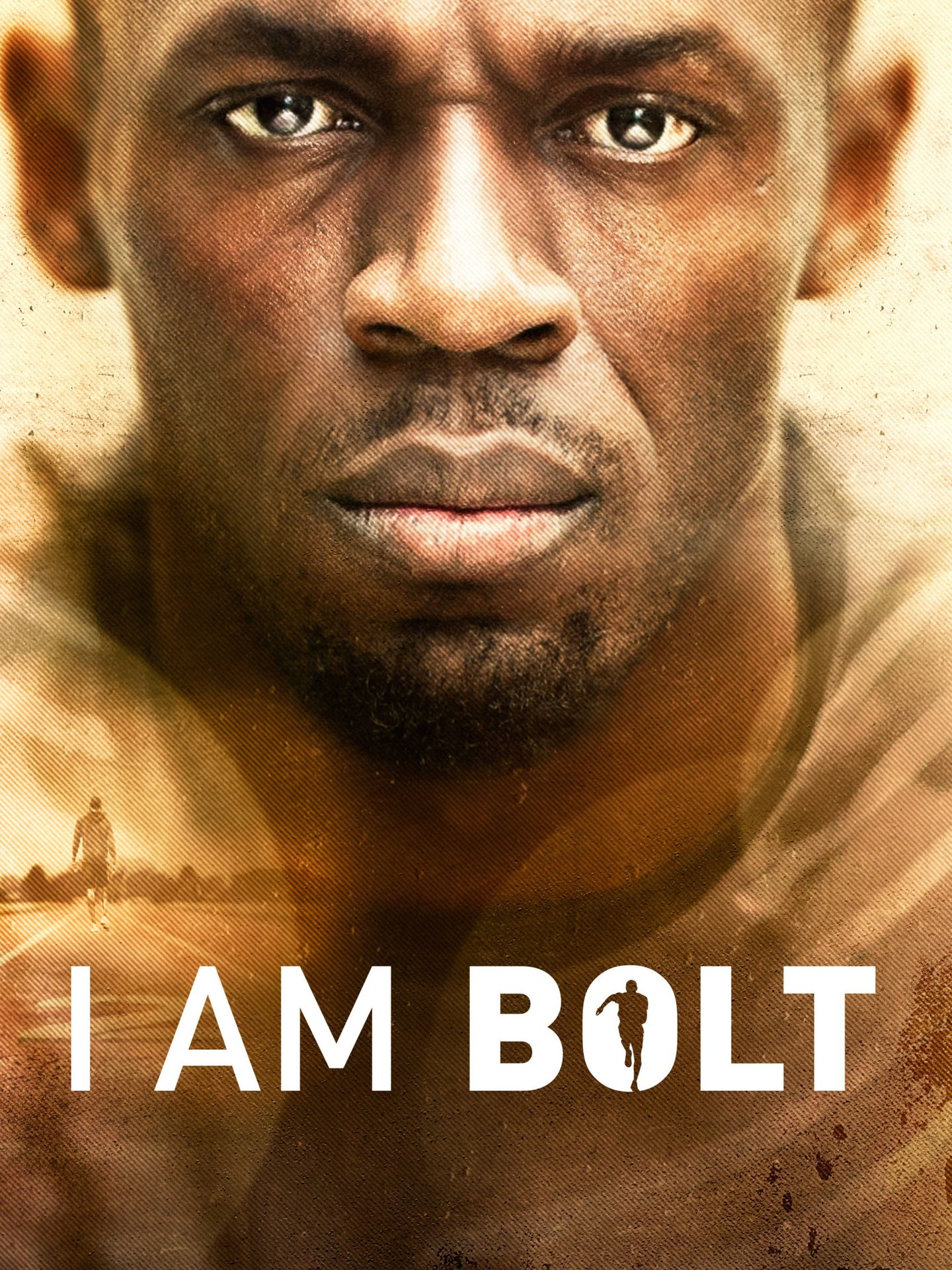 Póster oficial del documental 'I Am Bolt'. (Movistar)