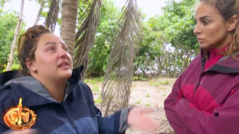 Rocío Flores y Ana María Aldón, en 'Supervivientes 2020'. (Mediaset España)